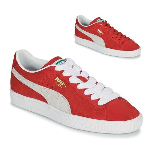 grande vente ba549 9d43a baskets puma suede rouge pas cher ou d'occasion sur Rakuten
