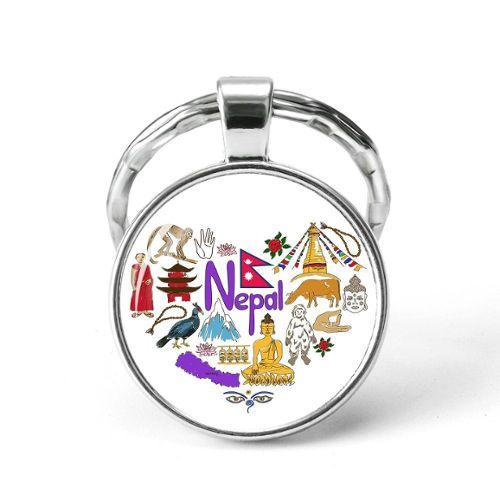 Artisanat Original Du Nepal Neuf Pendentif