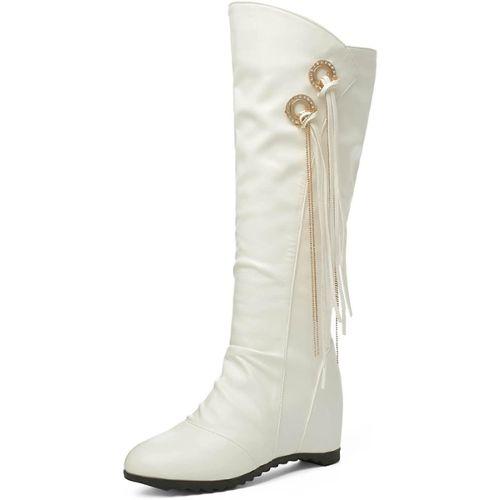 2056dfbd8cd32a bottes femme compense noir pas cher ou d'occasion sur Rakuten