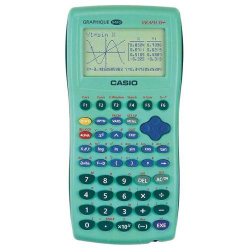 Achat Calculatrice Graphique Verte Casio Graph 35 Pas Cher Ou D Occasion Rakuten