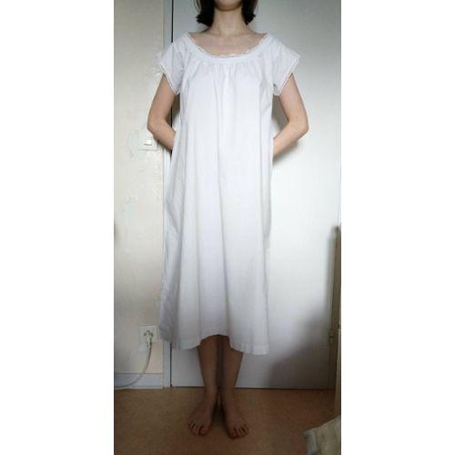 a72a91e9e059b chemise de nuit coton ancien pas cher ou d'occasion sur Rakuten