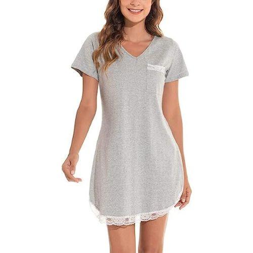 9398d9fa3d0d0 chemise de nuit femme coton pas cher ou d'occasion sur Rakuten