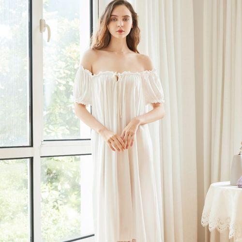 a54764ff63f9e chemise nuit coton pas cher ou d'occasion sur Rakuten