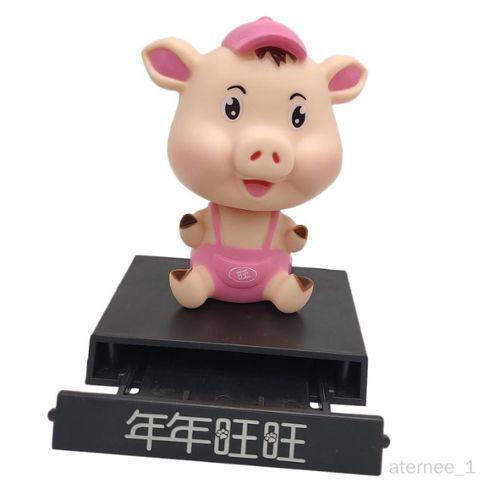 Wedestock Cochon Figurine d/éco Jardin en r/ésine /à Poser ou Suspendre 16cm