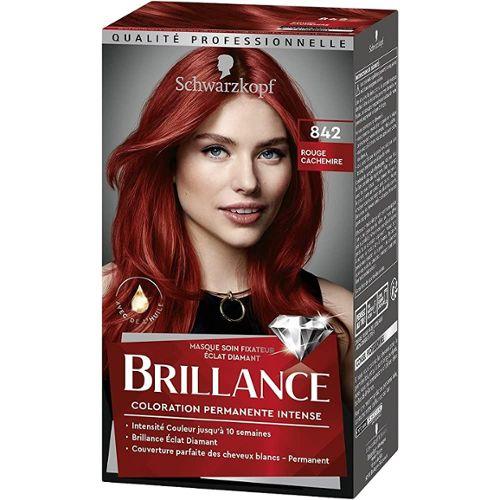 Coloration verte sur cheveux brun