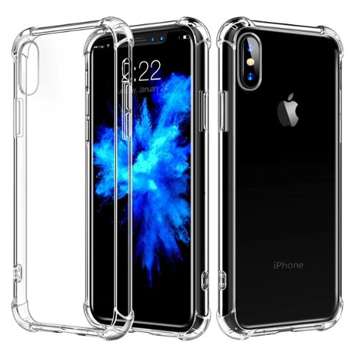 coque iphone x silicone transparente a motif