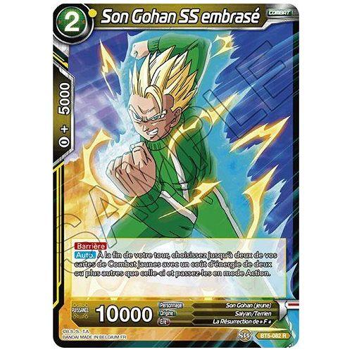 Carte Dragon Ball Super SON GOKU SALVE D/'ENERGIE BT8-106 R DBZ FR NEUF