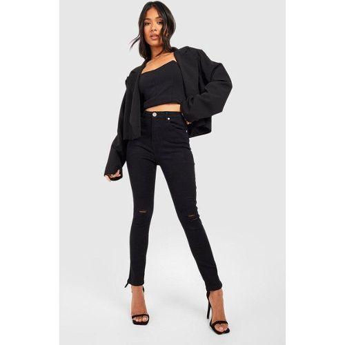 3ab7cbcee jean noir dechire pas cher ou d'occasion sur Rakuten
