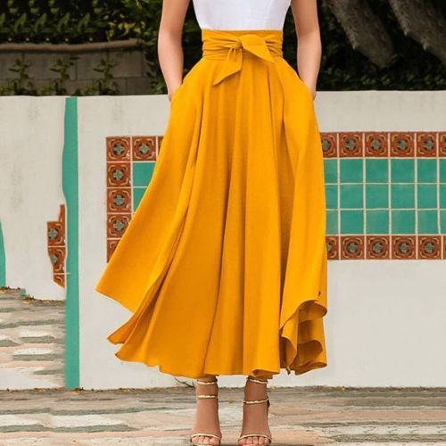 13f96c8daa426f jupe 38 jaune pas cher ou d'occasion sur Rakuten