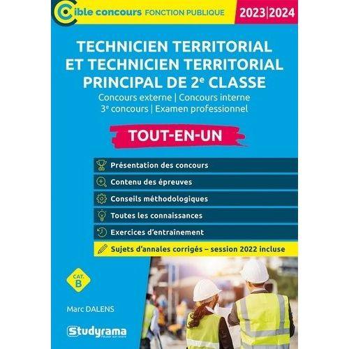 80930346001 livre concours technicien territorial pas cher ou d occasion sur Rakuten