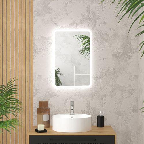 miroir salle de bain avec eclairage pas cher ou d\'occasion sur Rakuten