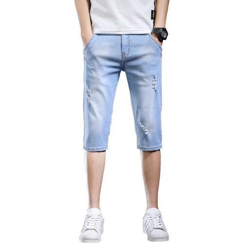 7ff8fa060 pantalon jean delave pas cher ou d'occasion sur Rakuten