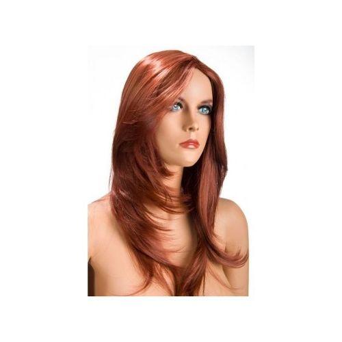 perruque longue rousse pas cher ou d'occasion