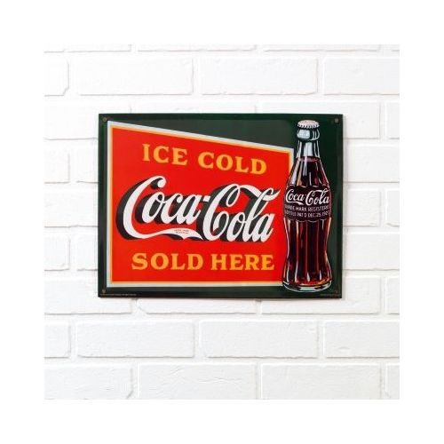90177a25e16 plaque coca cola pas cher ou d occasion sur Rakuten