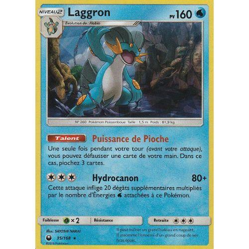 SL07:Tempête Celeste Laggron Carte Pokemon Neuve Française 35//168