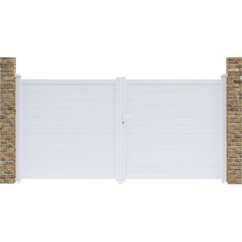 26257c6b55e23d portail aluminium pas cher ou d'occasion sur Rakuten
