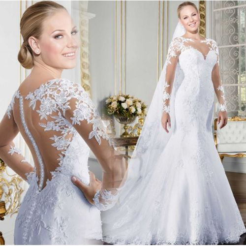 ecbad14eee4 robe mariee longues dentelle pas cher ou d occasion sur Rakuten