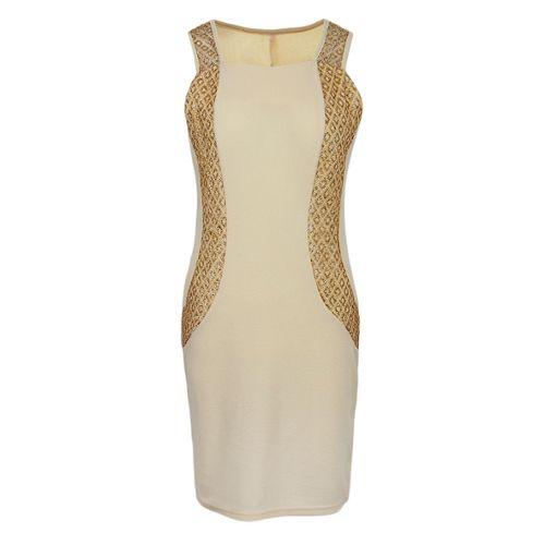 6cf1756f779 robe noir beige pas cher ou d occasion sur Rakuten