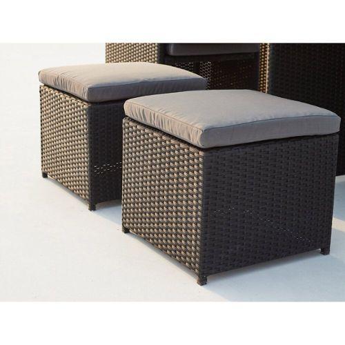 salon de jardin encastrable 8 places pas cher ou d. Black Bedroom Furniture Sets. Home Design Ideas