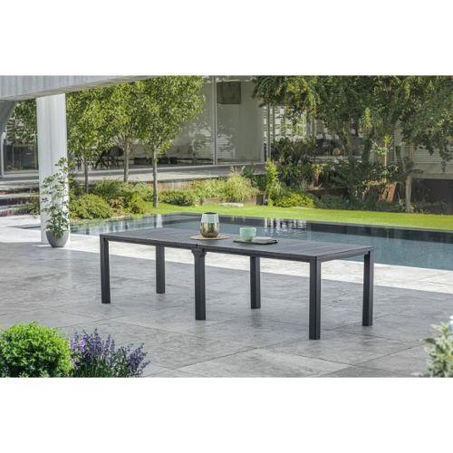 table de jardin en bois 10 personnes pas cher ou d\'occasion sur Rakuten