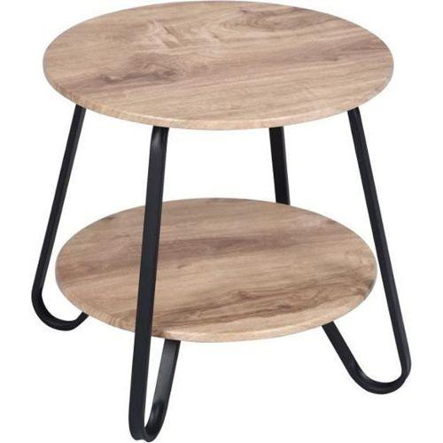 table de jardin en bois ronde pas cher ou d\'occasion sur Rakuten
