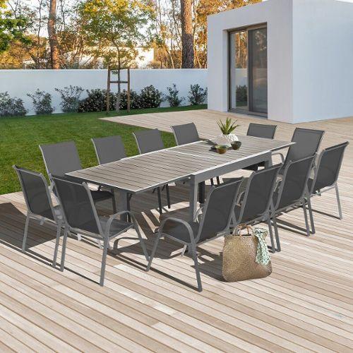 table jardin extensible pas cher ou d\'occasion sur Rakuten