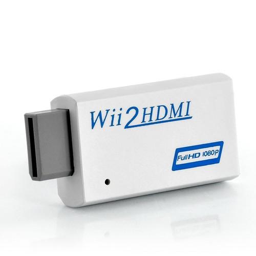 Convertisseur hdmi pour console nintendo wii full hd 1080p prise pour casque - Garantie console micromania ...