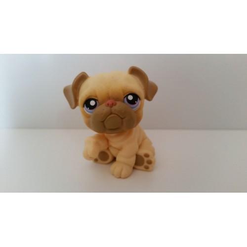 Littlest petshop chien marron sharpei lps pet shop animaux - Chien pet shop ...