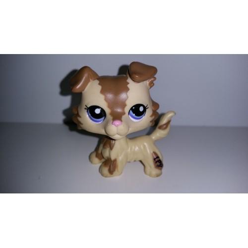 Littlest petshop lps pet shop chien colley border collie - Chien pet shop ...