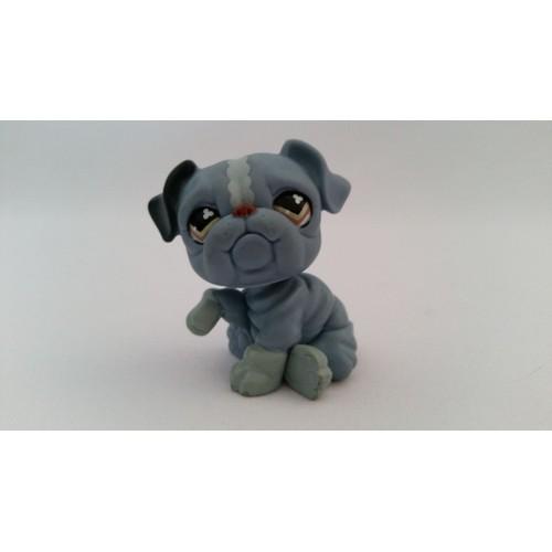 Littlest petshop petshop chien sharpei bleu lps pet shop - Chien pet shop ...