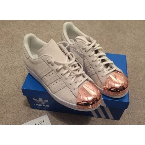 adidas superstar or rose