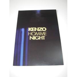 Ou Communiqué Parfum Homme Du Publicité Kenzo Affiche De Night Presse PiOkXZu