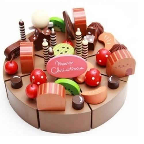 B b jouets en bois g teau au chocolat g teau d - Jeux de cuisine de sara gateau au chocolat ...