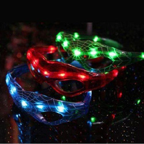 [Design] Spider-Man 3 couleurs f?te ensemble LED lunettes de soleil CLUB concert dans Comiket cosplay Haro ' u fantaisie verres de partie de robe brillent (Japon import / Le paquet et le manuel sont ? PrlMS3X