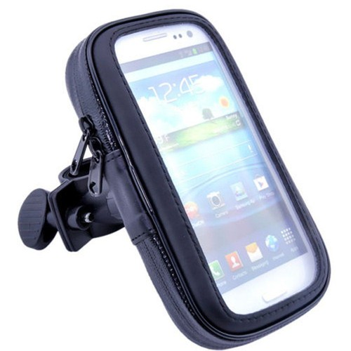 Ebuy universal imperm able moto v lo bicycle handlebar porte mont pour iphone 4 5 5s se for Porte telephone moto