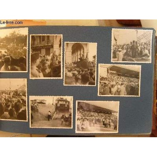 Gros Album Familial 1917 1952 De Photos Originales En Noir Et