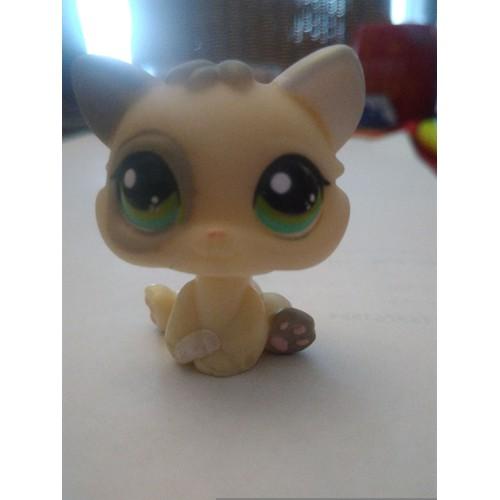 Littlest petshop chat chaton lps pet shop yeux verts - Petshop chaton ...