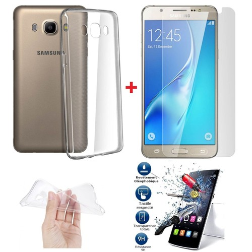 Pack incassable coque film ecran verre trempe samsung for Photo ecran galaxy j5