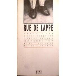 Rue De Lappe . de ( Paris 11�me ) - Cook Robin - Daeninckx Didier - Fajardie Fr�d�ric - Vilar Jean-Fran�ois - Villard Marc - Hayman Miles