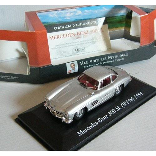miniature automobile v hicule mercedes benz 300 sl w198 1954 1 43eme. Black Bedroom Furniture Sets. Home Design Ideas