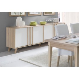 Factory Buffet Enfilade Bahut Grand Mod¨le Malmo Meuble