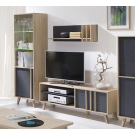 bibliothque petite profondeur affordable etagre bibliothque avec portes et niches hauteur cm. Black Bedroom Furniture Sets. Home Design Ideas