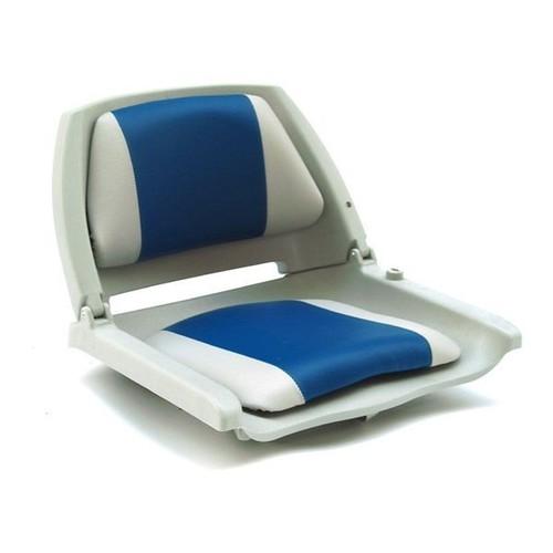 pro tec si ge marin chaise de p cheur 521 x 457 x 408 mm gris blanc bleu repliable. Black Bedroom Furniture Sets. Home Design Ideas
