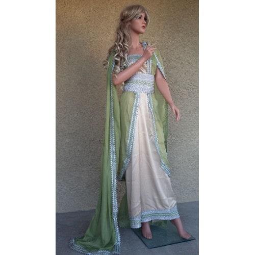 Robe Taille Moderne Takchita Caftan 38 Sari 2016 Kabyle Mariage rwZxfCnqrB