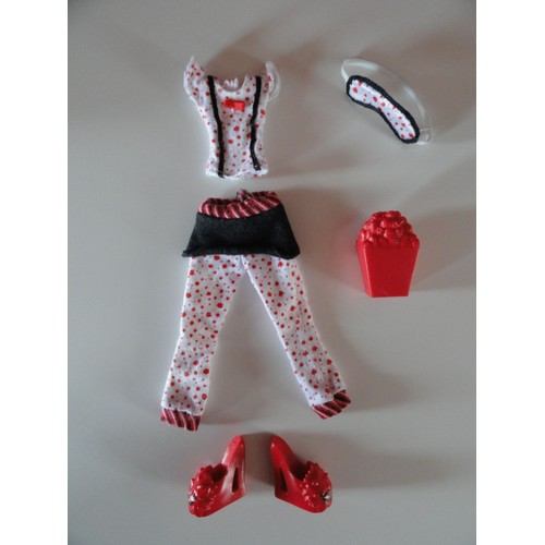 Tenue v tement monster high ghoulia yelps achat et vente - Tenue monster high ...