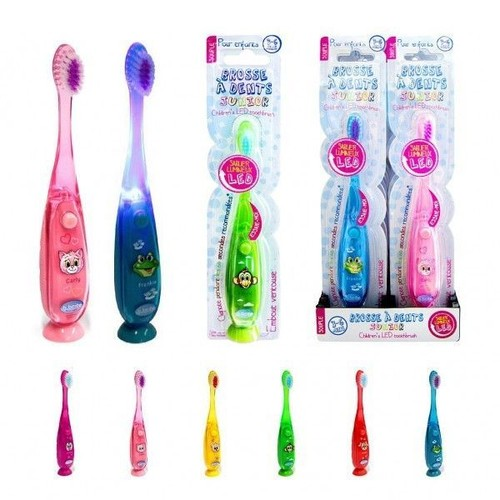 1 brosse a dent lumineuse pour enfant 15 cm hygiene pas cher. Black Bedroom Furniture Sets. Home Design Ideas