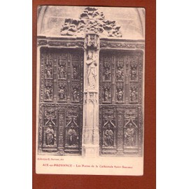 1 carte postale ancienne aix en provence porte de la cathedrale. Black Bedroom Furniture Sets. Home Design Ideas