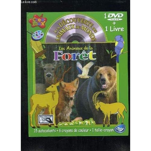 1 Dvd Video 1 Livre A La Decouverte Des Animaus Du Monde Les