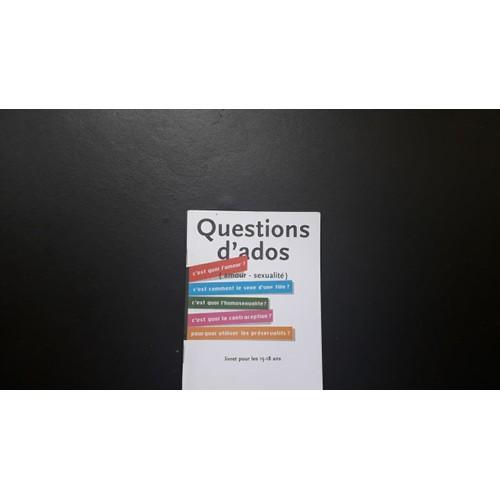 1 Livre Perso 34 Question D 39 Ados 34 Amour