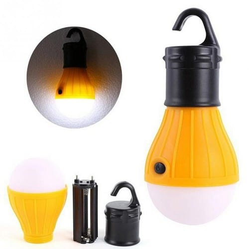 1 pi ce lampe led lumi re douce ampoule suspendre lampe de camping randonn e p che tente. Black Bedroom Furniture Sets. Home Design Ideas